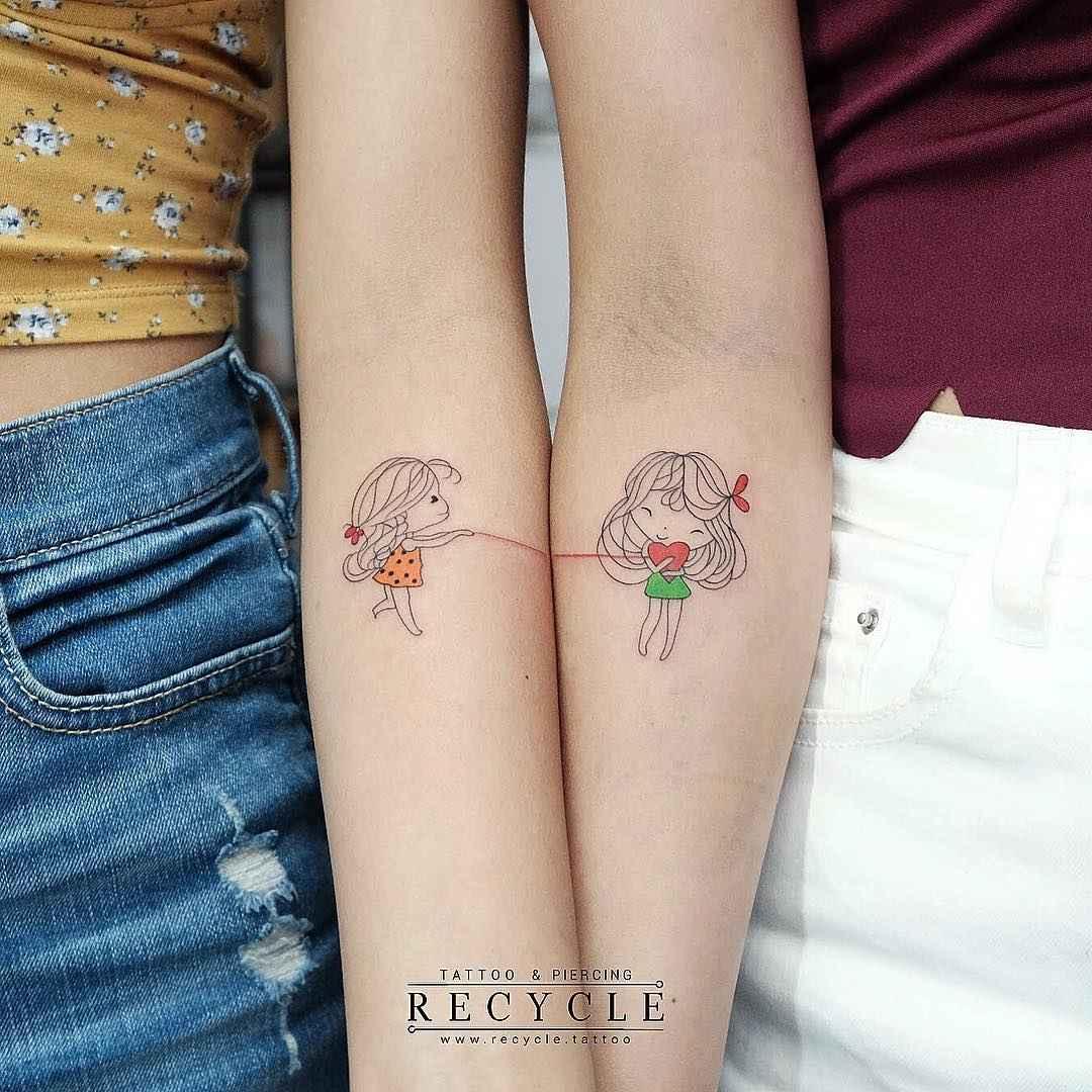 татуировки для сестер фото_3