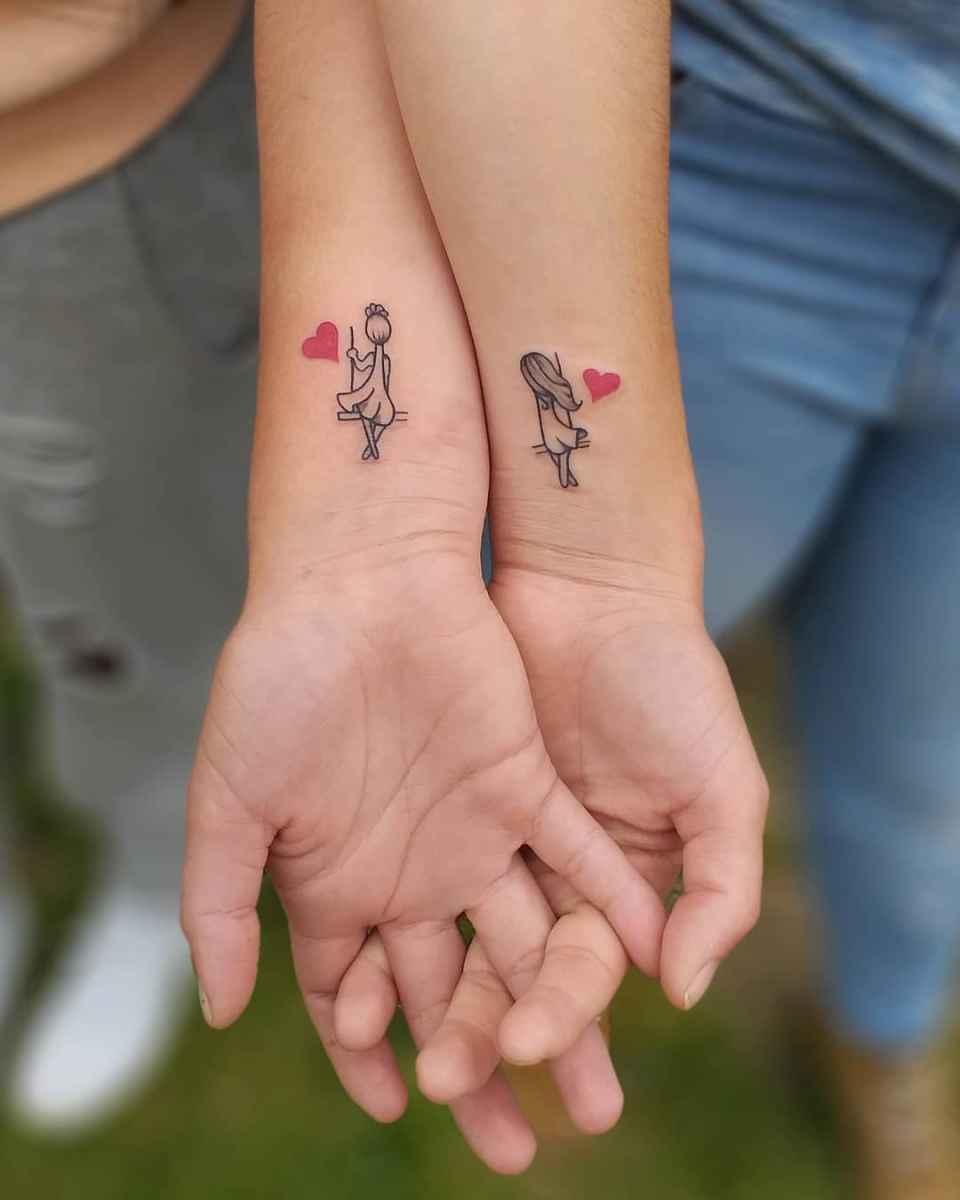 татуировки для сестер фото_9