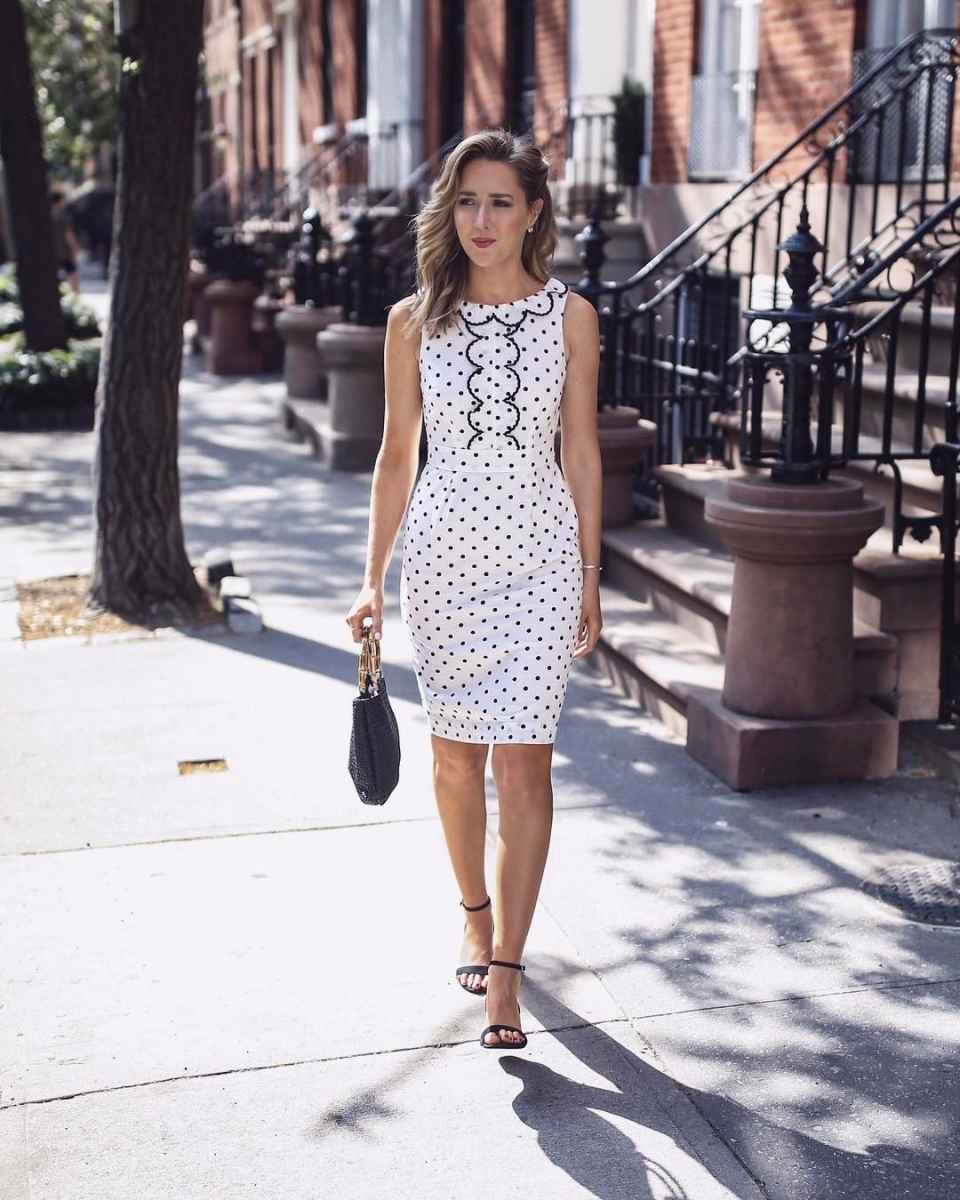 модные деловые платья фото_8