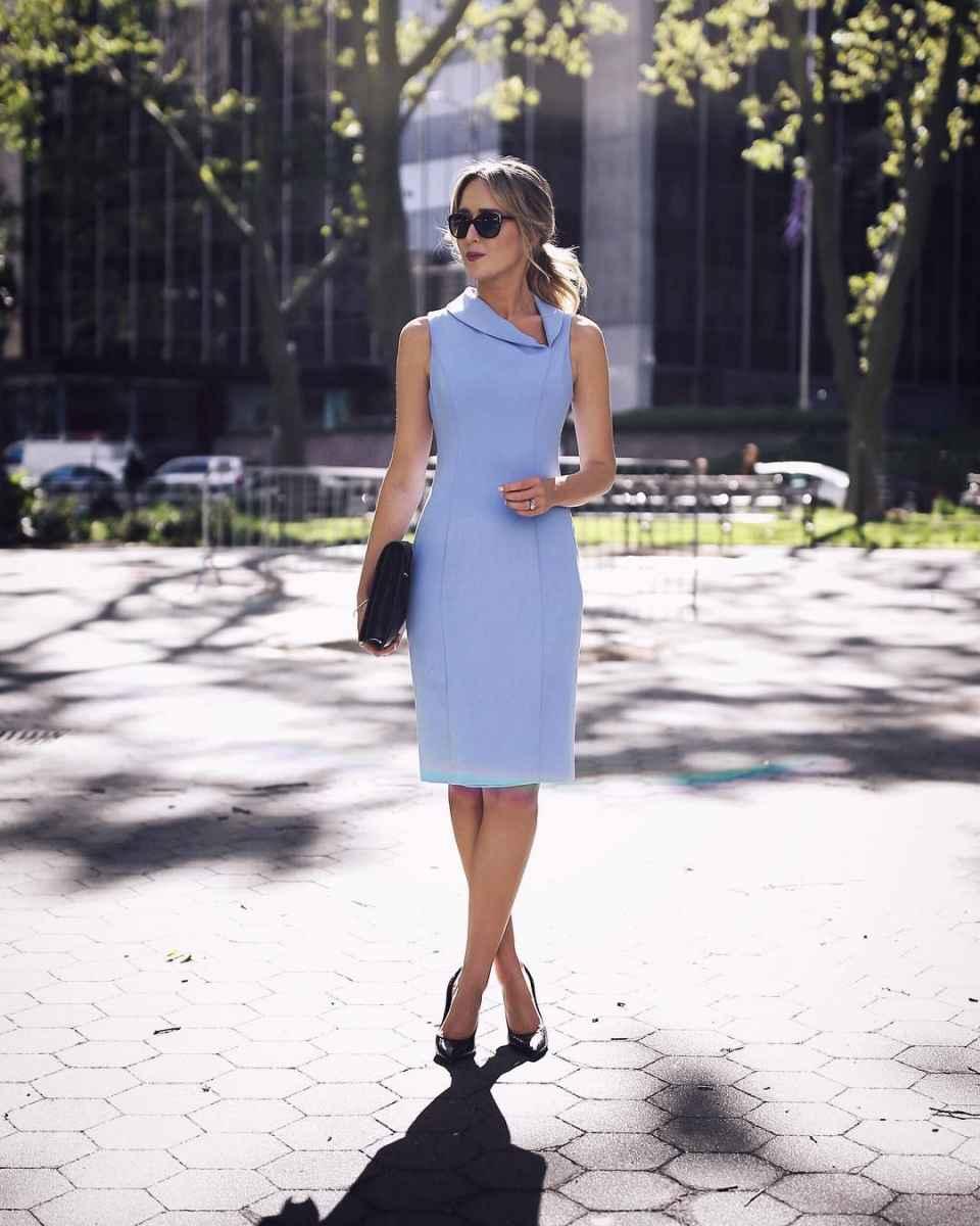 модные деловые платья фото_7