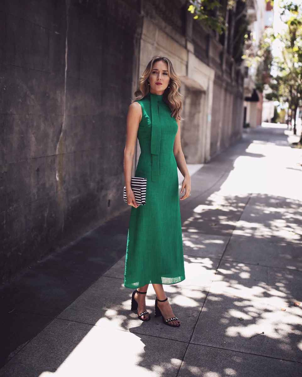 модные деловые платья фото_5