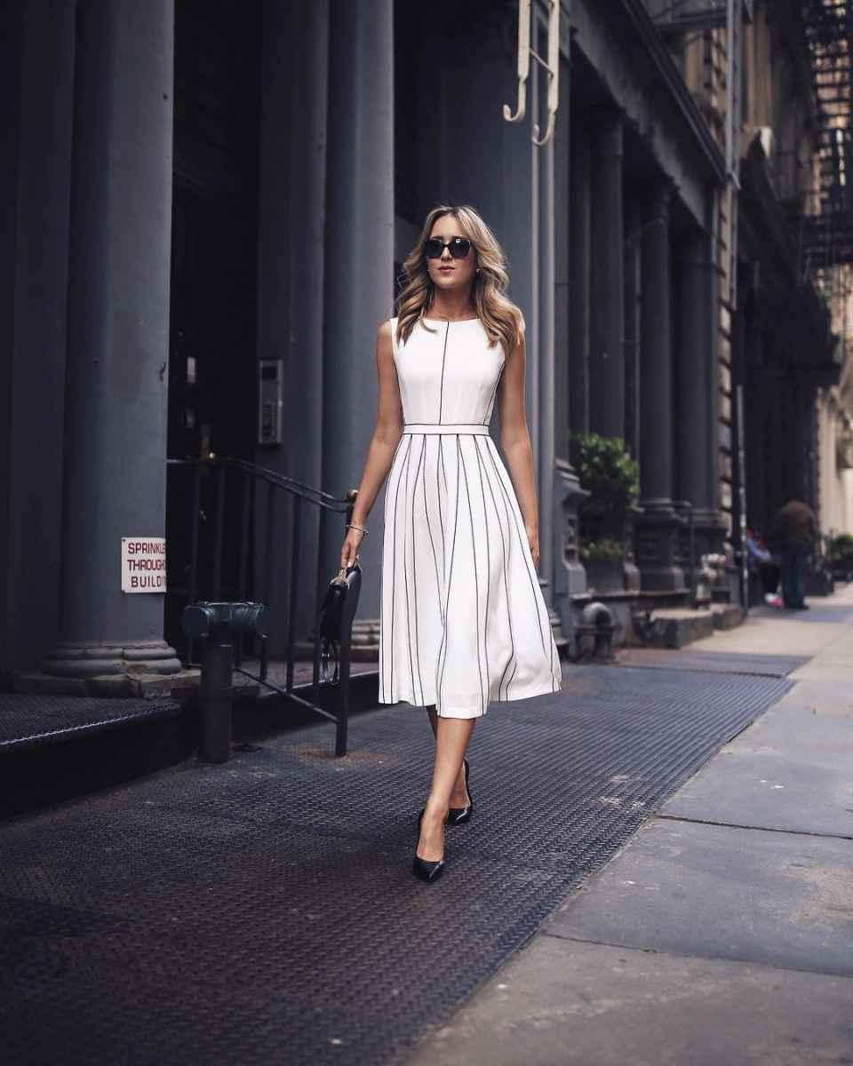 модные деловые платья фото_4