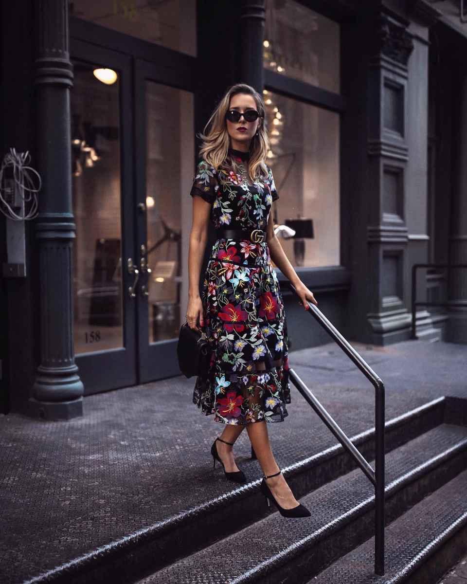 платье с цветочным принтом 2019 фото_3