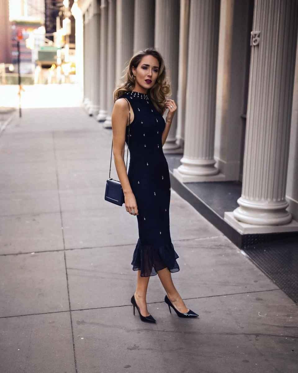 модные деловые платья фото_2
