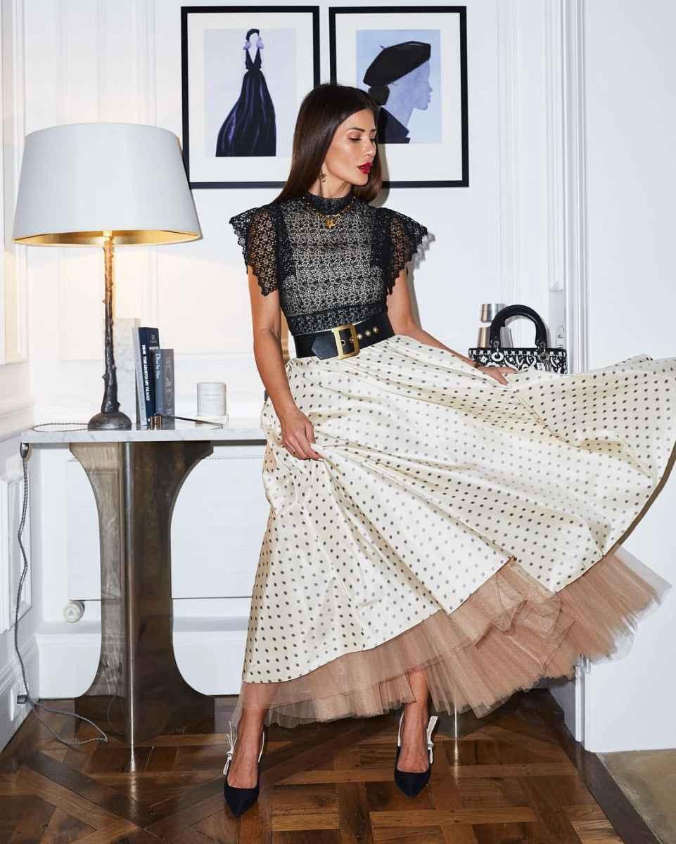 юбка с воланами фото_2