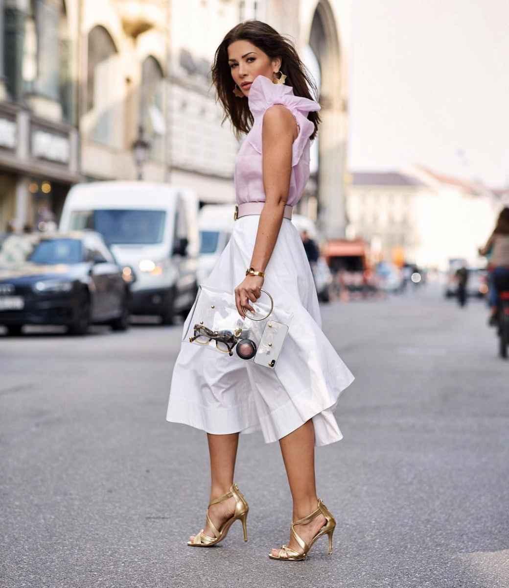 юбка с воланами фото_1