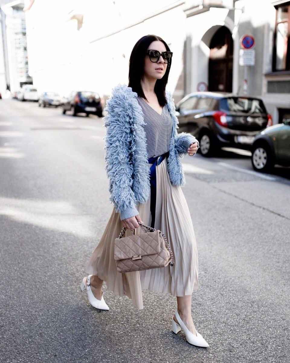 Плиссированная юбка фото_2
