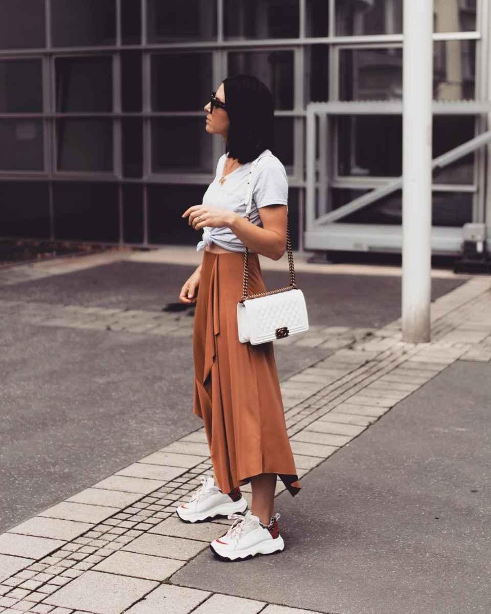 Плиссированная юбка фото_1