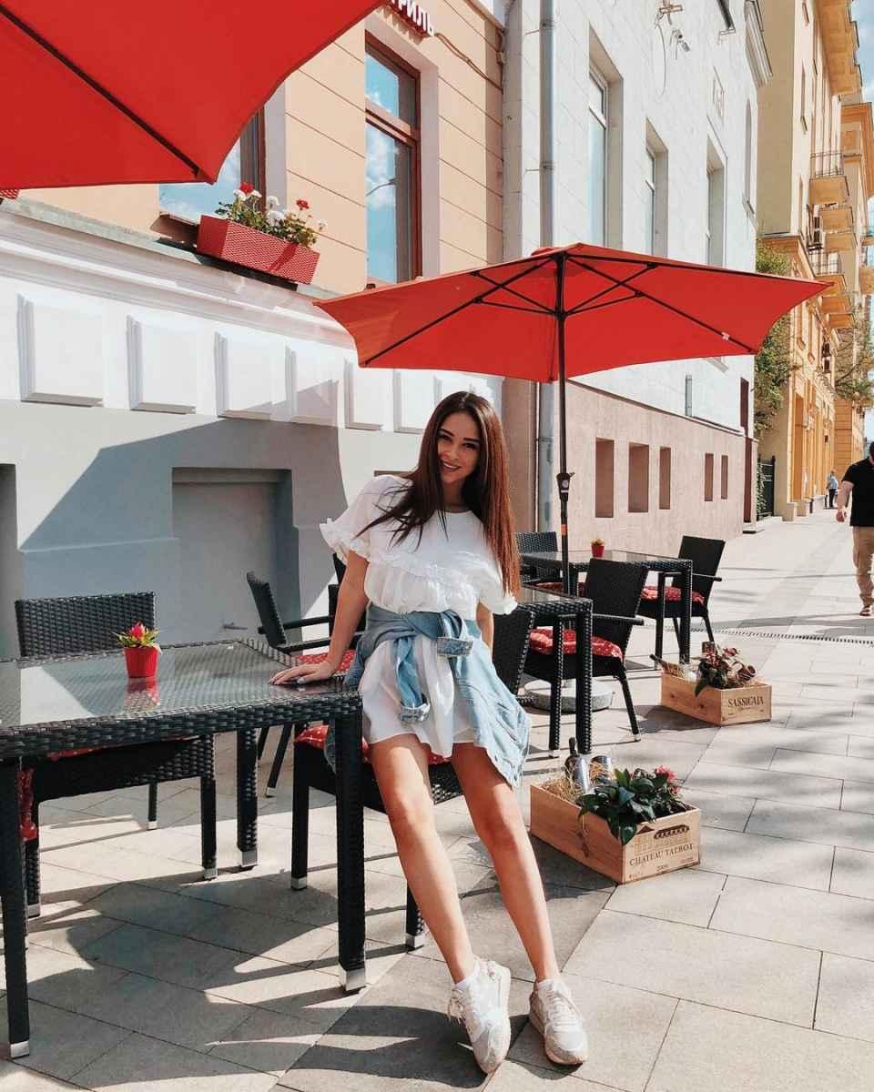 Мода для беременных весна-лето 2019 фото_38