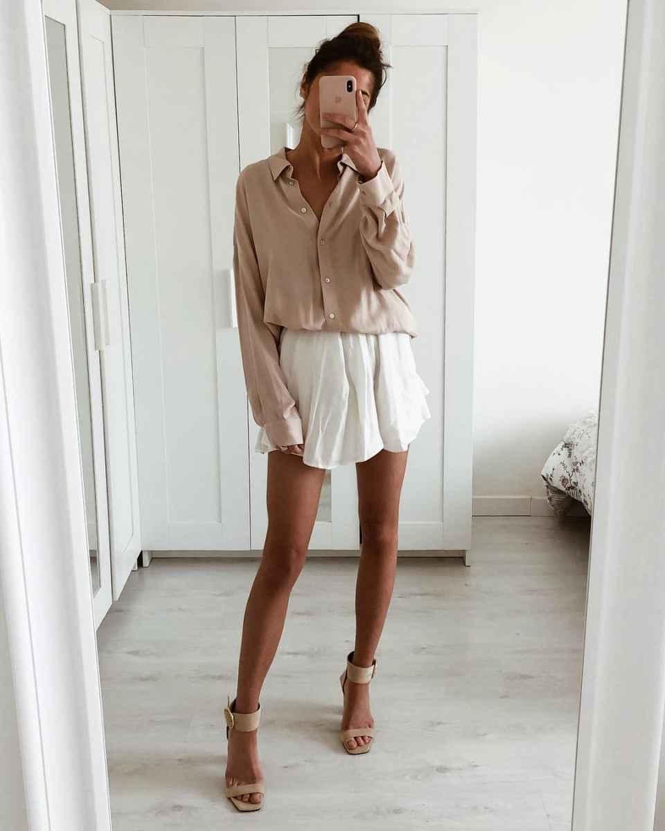 Мода для невысоких женщин лето 2019 фото_49
