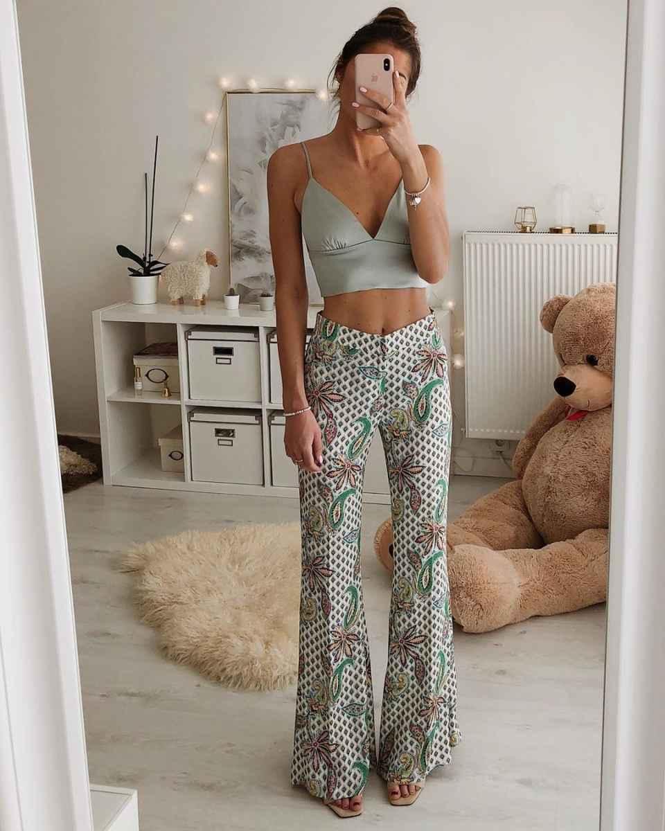 Мода для невысоких женщин лето 2019 фото_47
