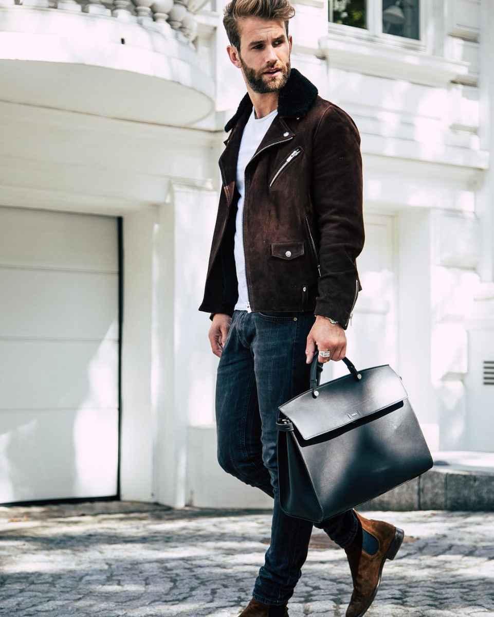Модные мужские сумки 2019 фото_2