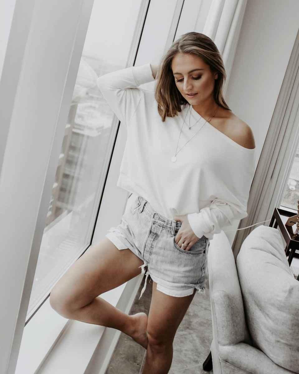 Модные шорты лето 2019 фото_27