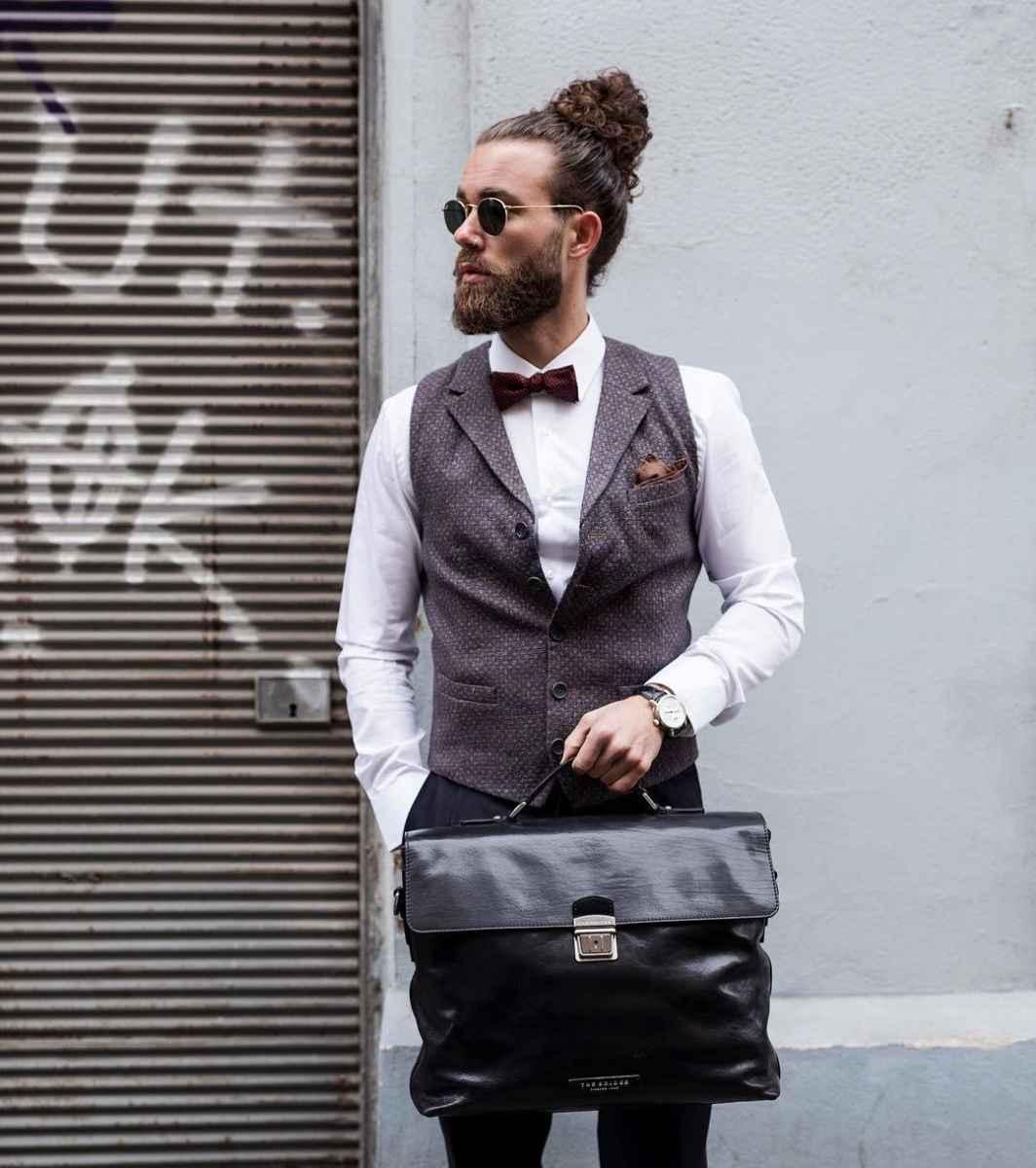 Модные мужские сумки 2019 фото_8