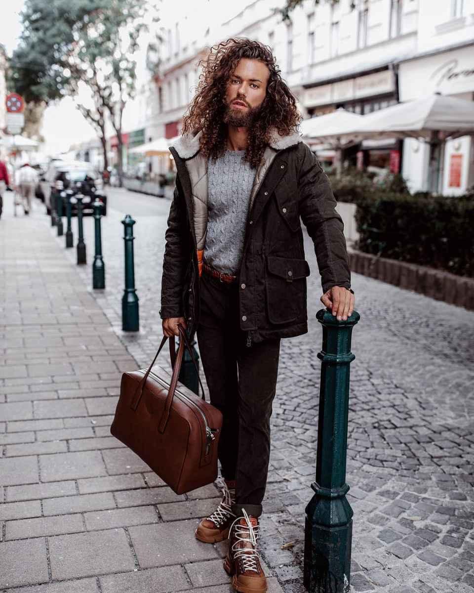 Модные мужские сумки 2019 фото_6