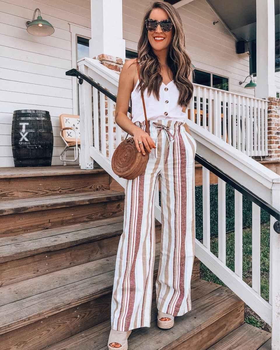 Мода для невысоких женщин лето 2019 фото_67