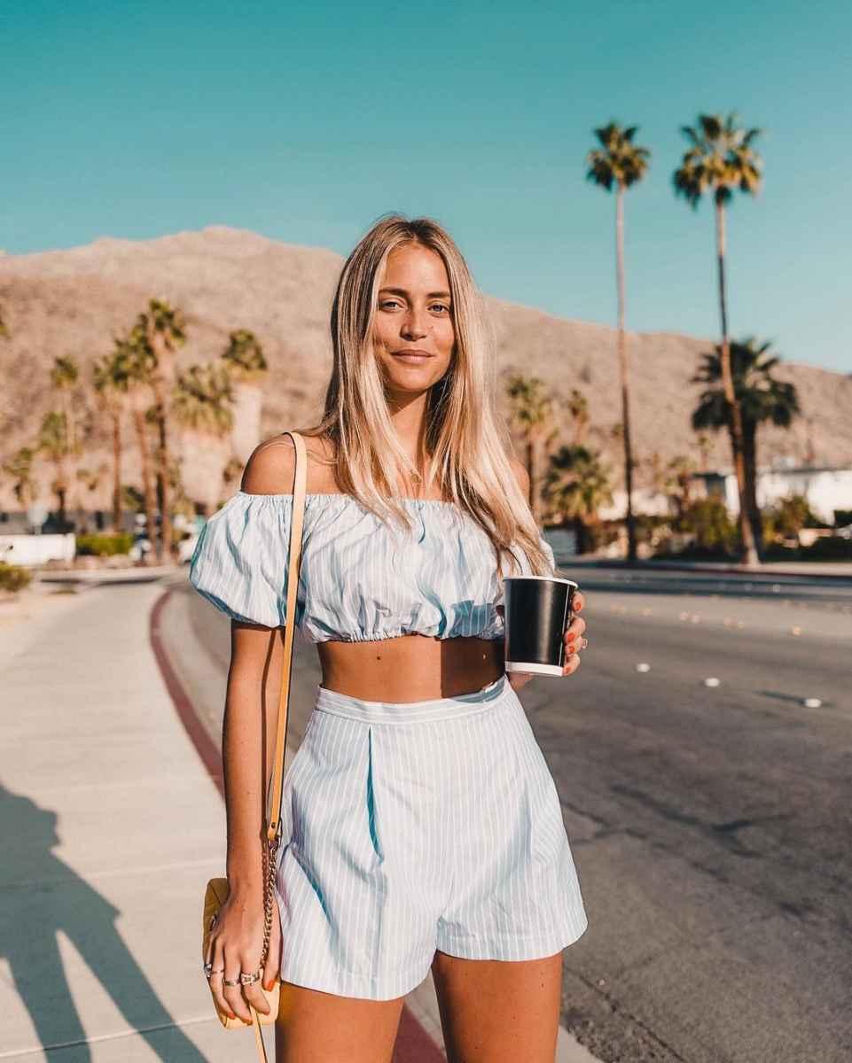 Модные шорты лето 2019 фото_38