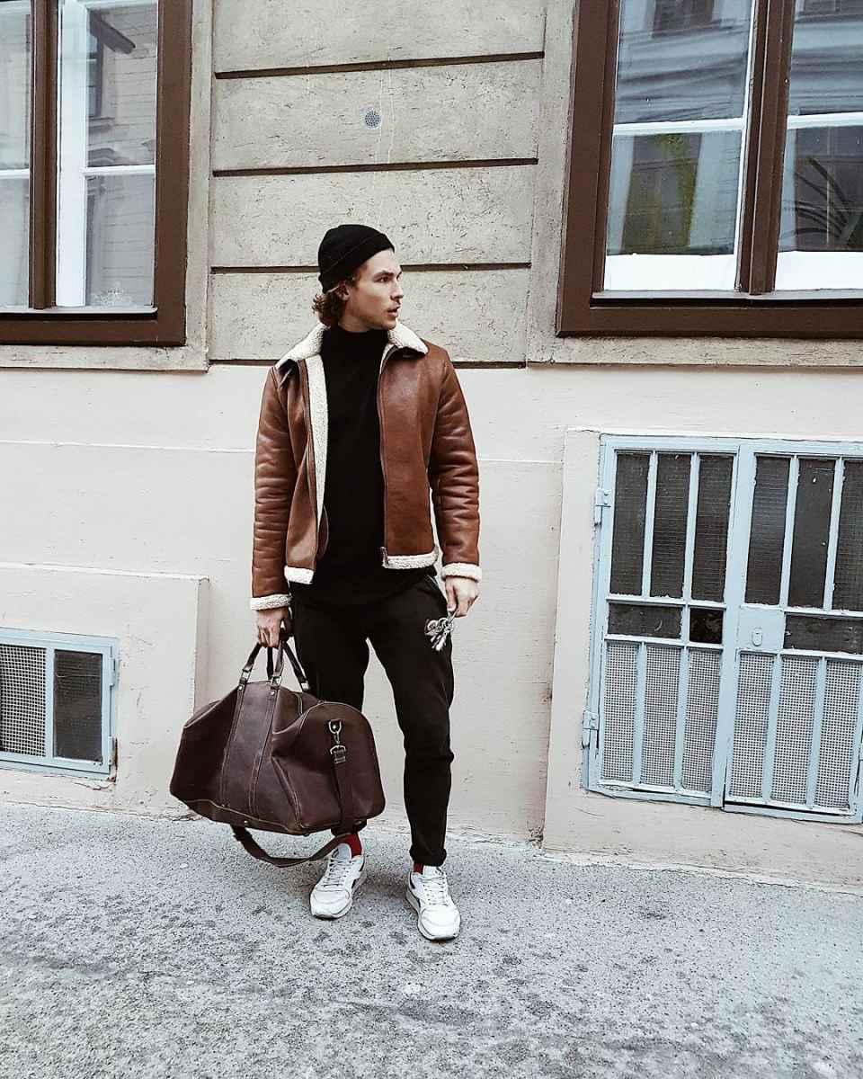 Модные мужские сумки 2019 фото_16