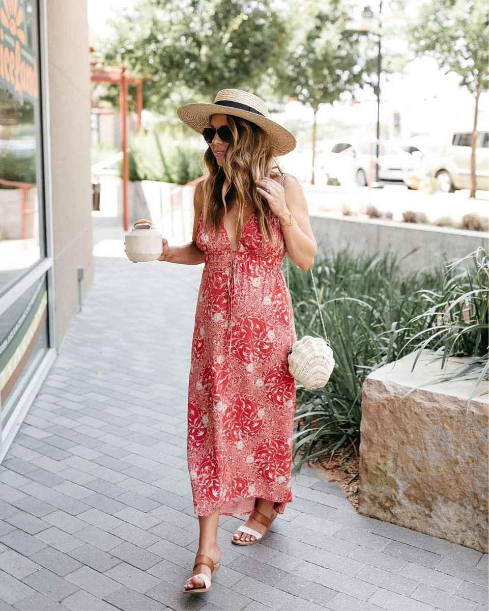 Мода для беременных весна-лето 2019 фото_47