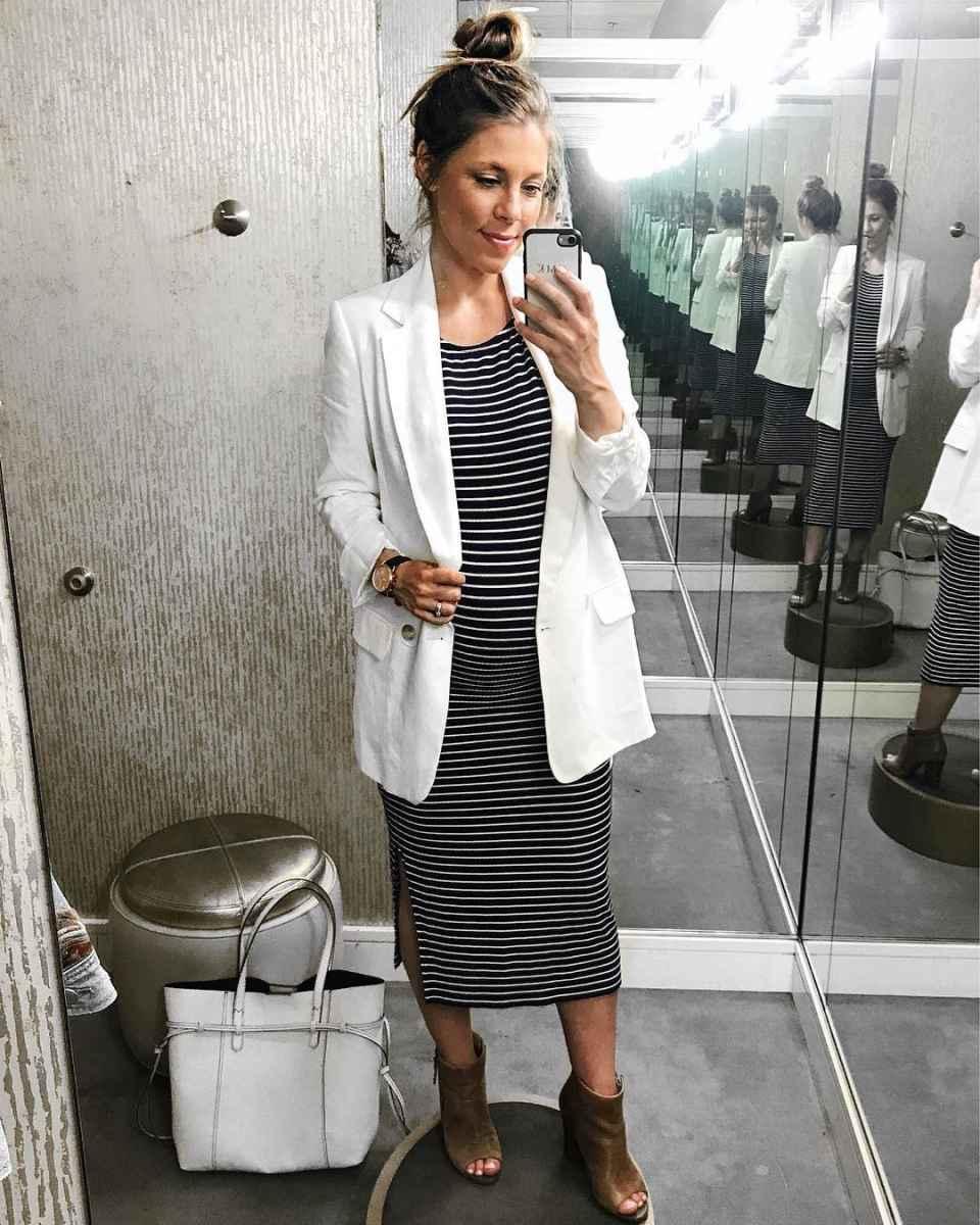 Мода для беременных весна-лето 2019 фото_48