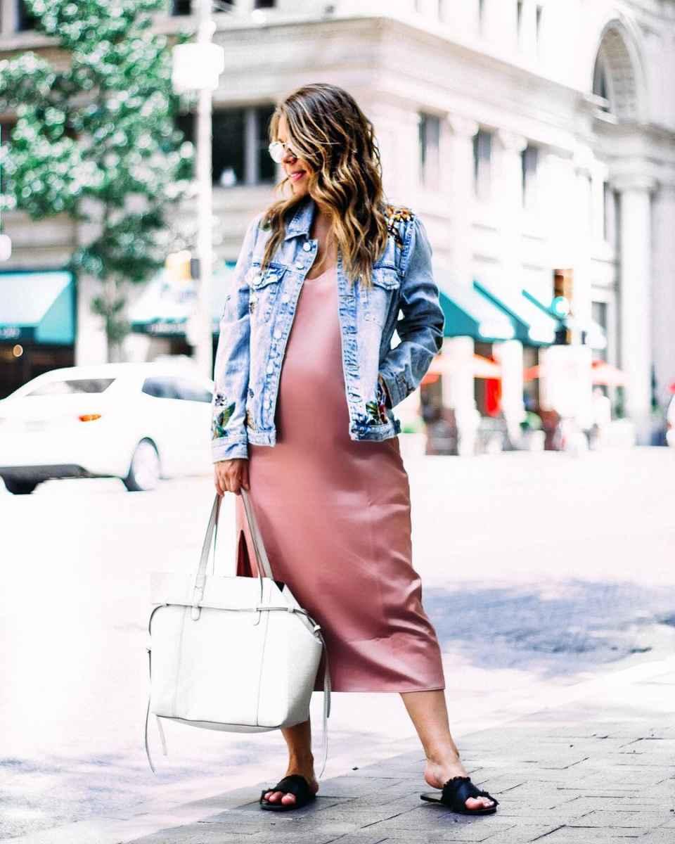 Мода для беременных весна-лето 2019 фото_49