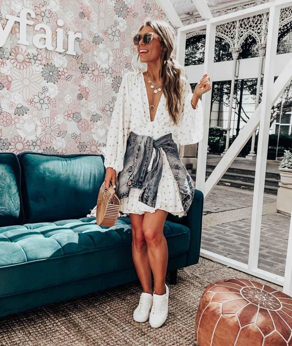 Мода для невысоких женщин лето 2019 фото_64