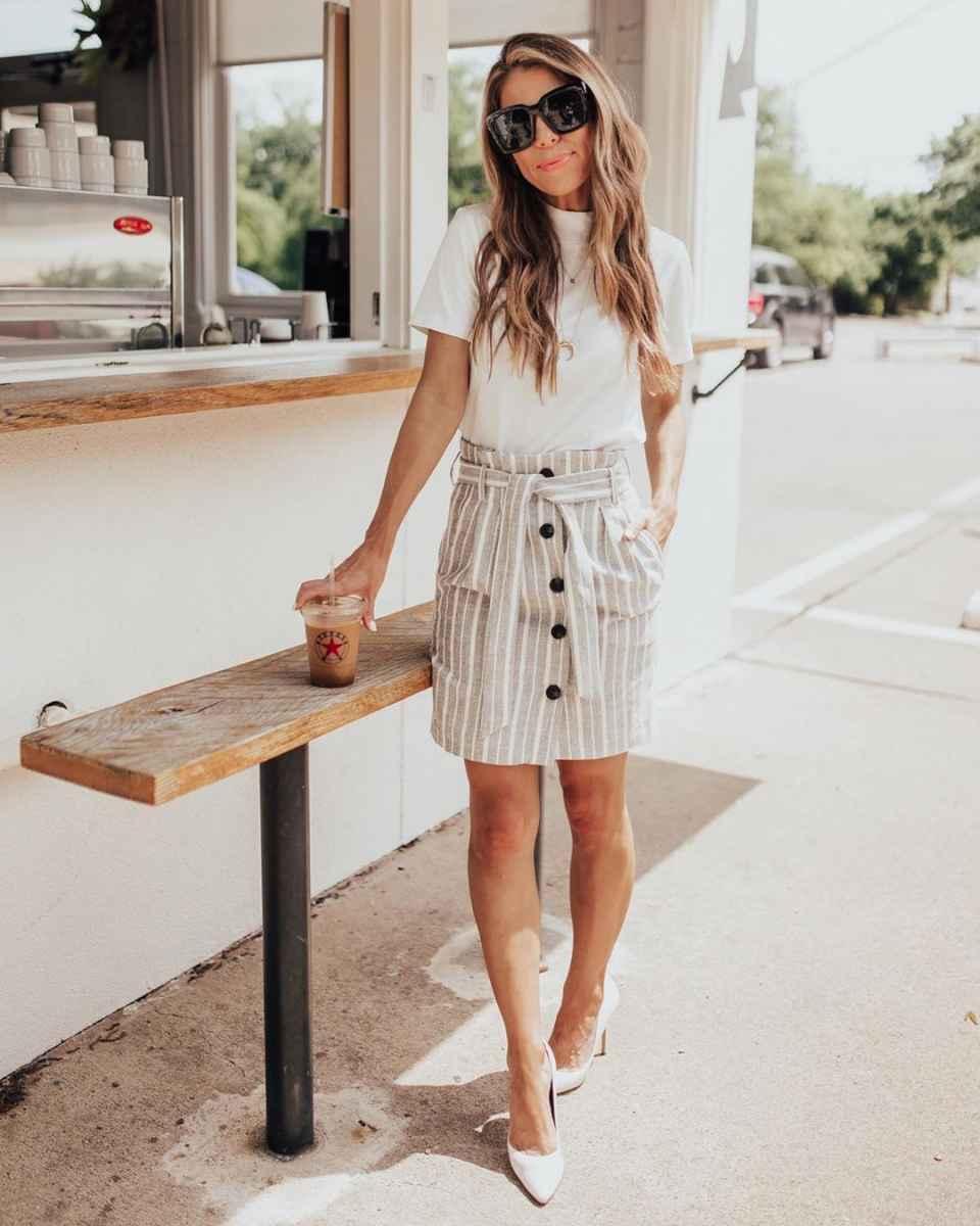 Мода для невысоких женщин лето 2019 фото_63