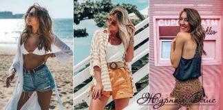Модные шорты лето 2019 фото