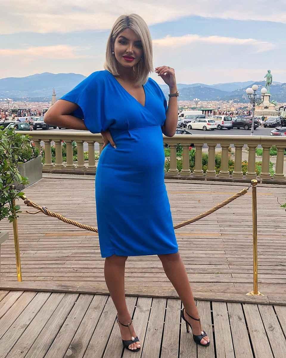 Мода для беременных весна-лето 2019 фото_9