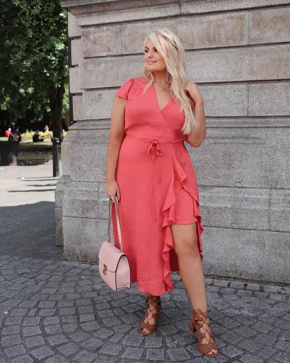 Модные луки для полных женщин лето 2019 фото_7