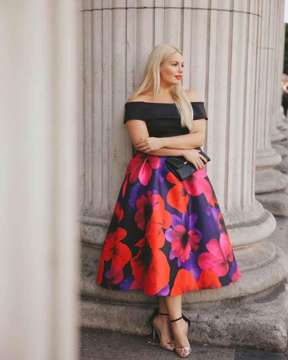 Мода для полных женщин лето 2019 фото идеи_8