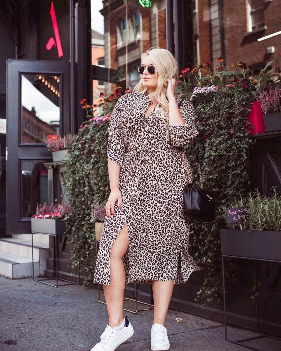 Модные луки для полных женщин лето 2019 фото_10