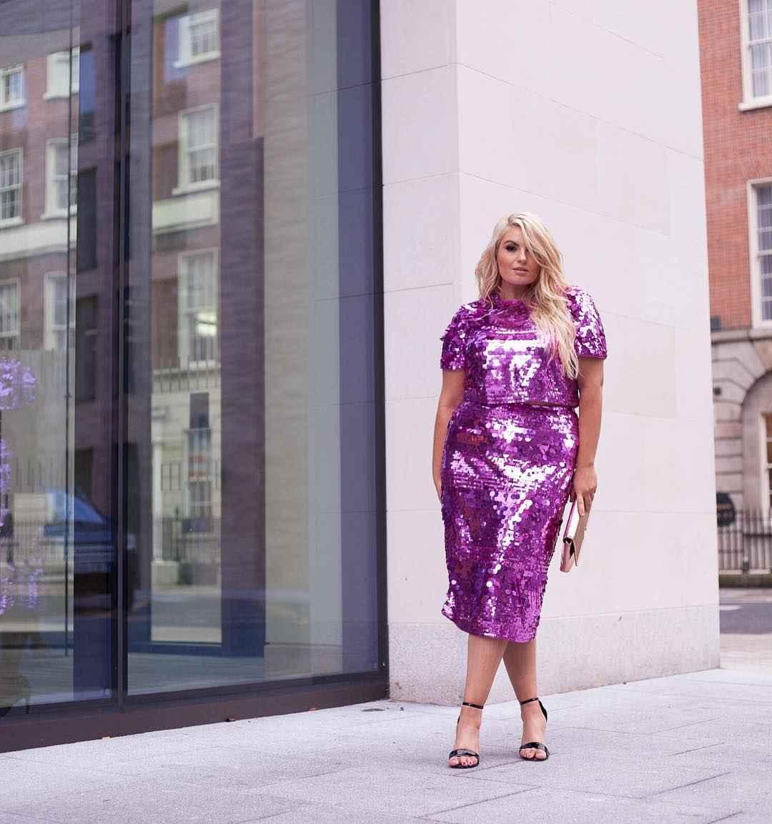 Мода для полных женщин лето 2019 фото идеи_16