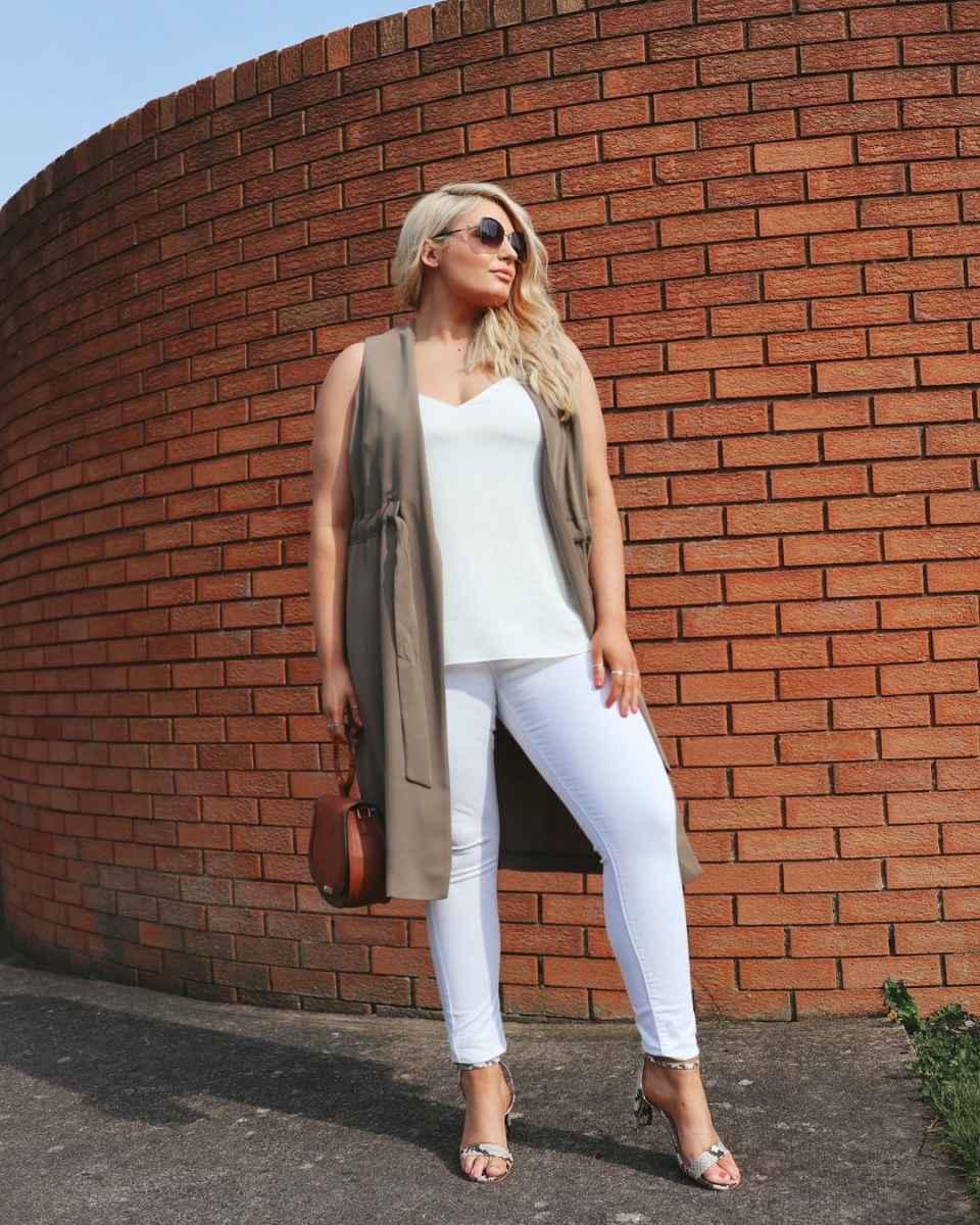 Мода для полных женщин лето 2019 фото идеи_27