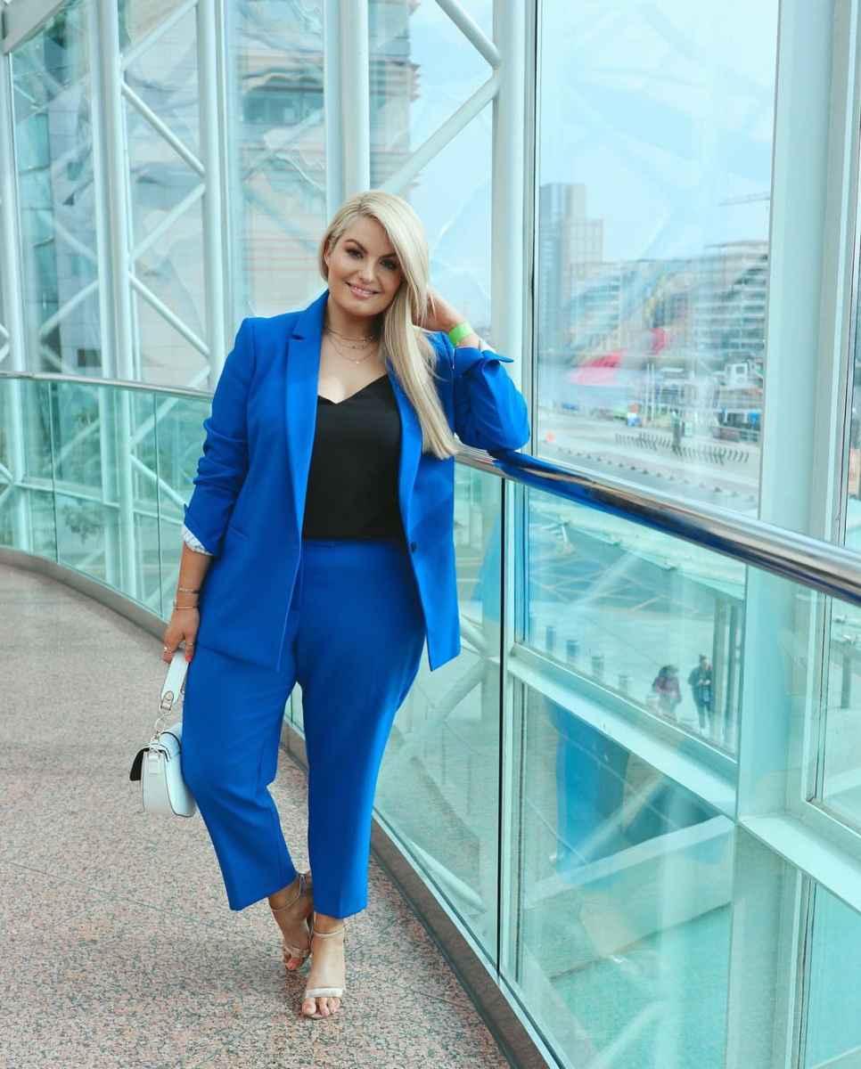 Мода для полных женщин лето 2019 фото идеи_28