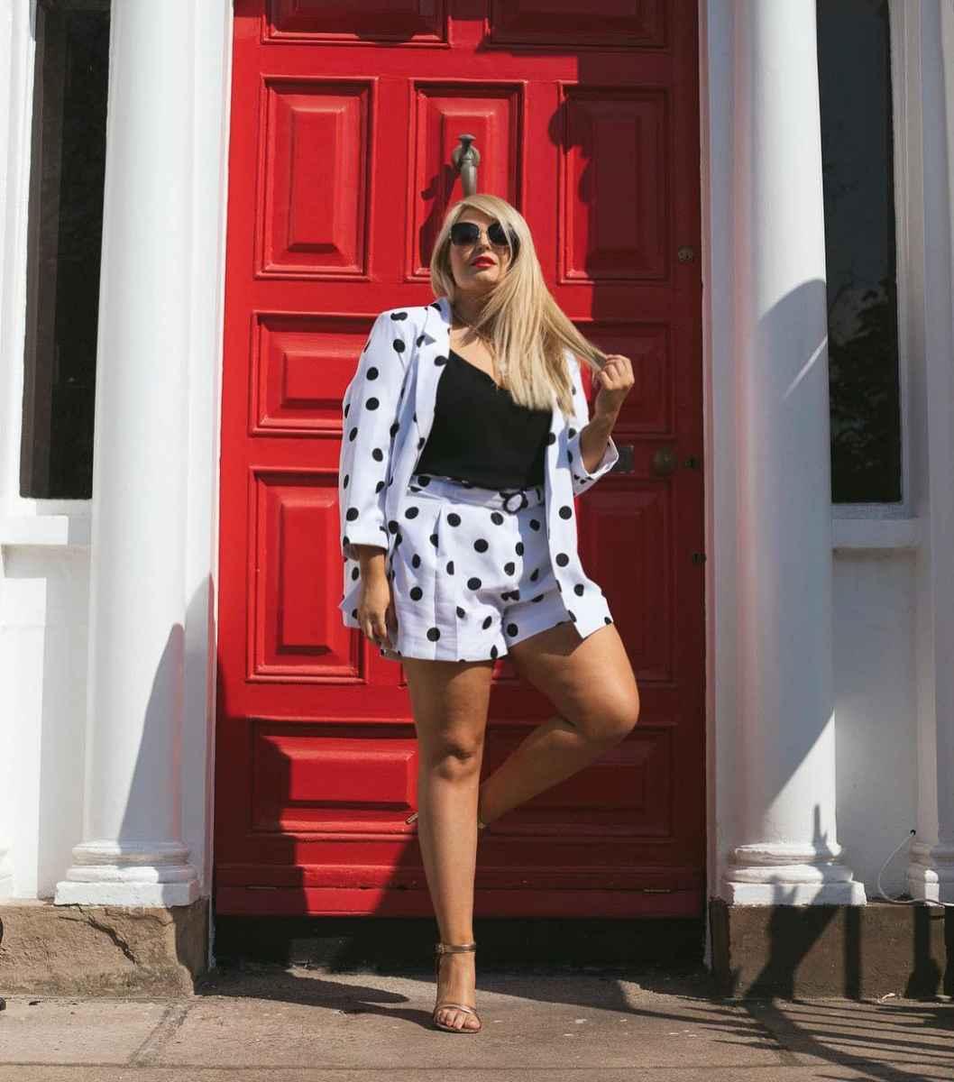 Мода для полных женщин лето 2019 фото идеи_29