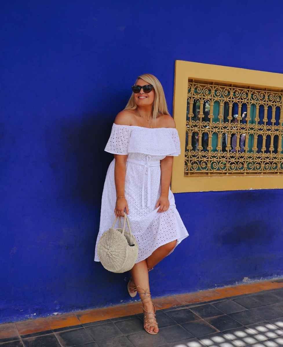 Модные луки для полных женщин лето 2019 фото_19