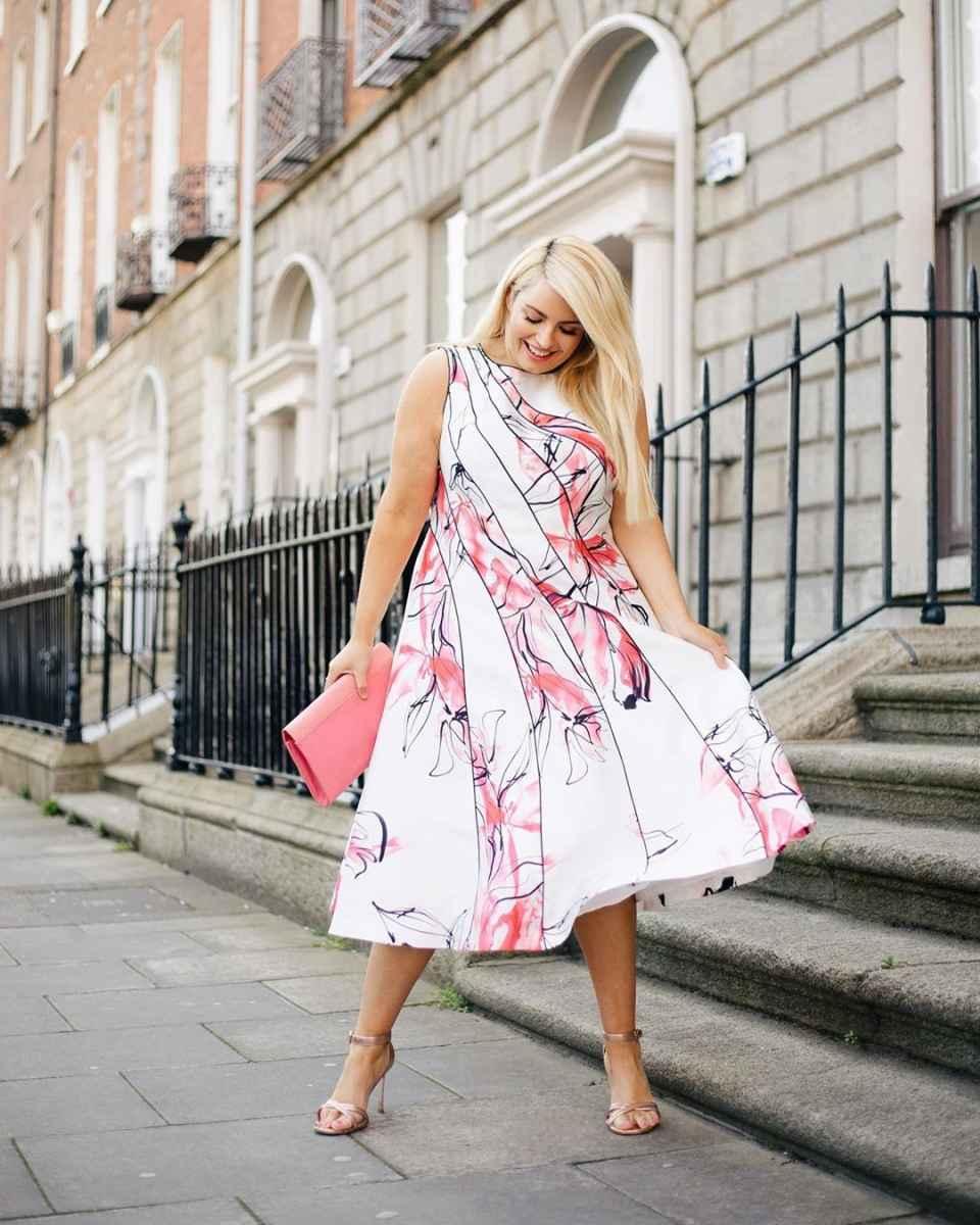 Мода для полных женщин лето 2019 фото идеи_32