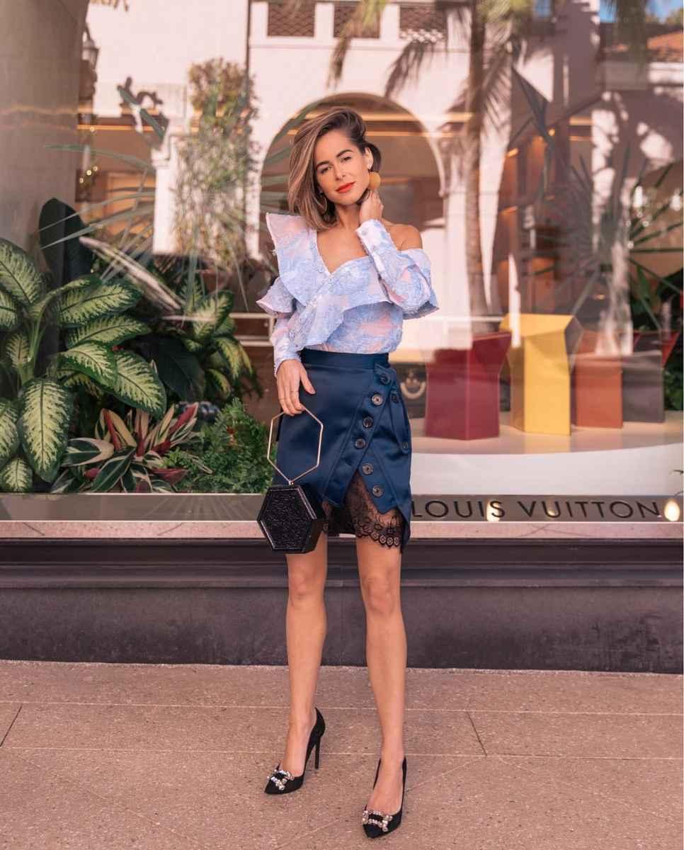 Мода для невысоких женщин лето 2019 фото_42