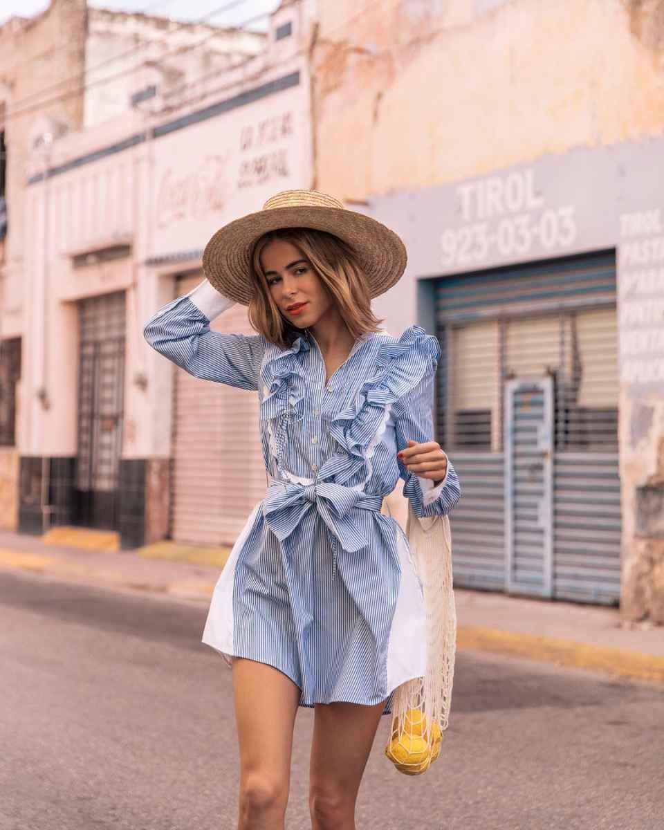 Мода для невысоких женщин лето 2019 фото_37