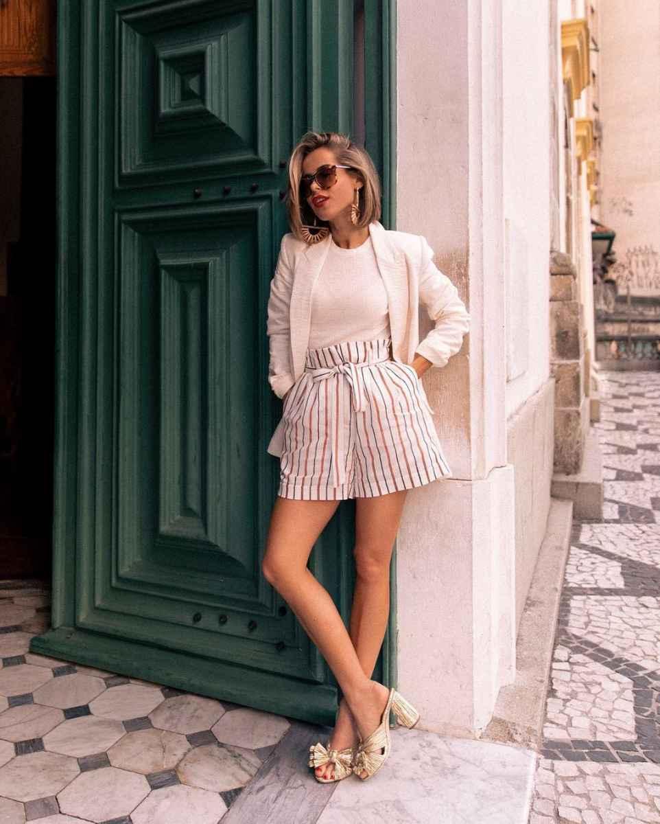Мода для невысоких женщин лето 2019 фото_29