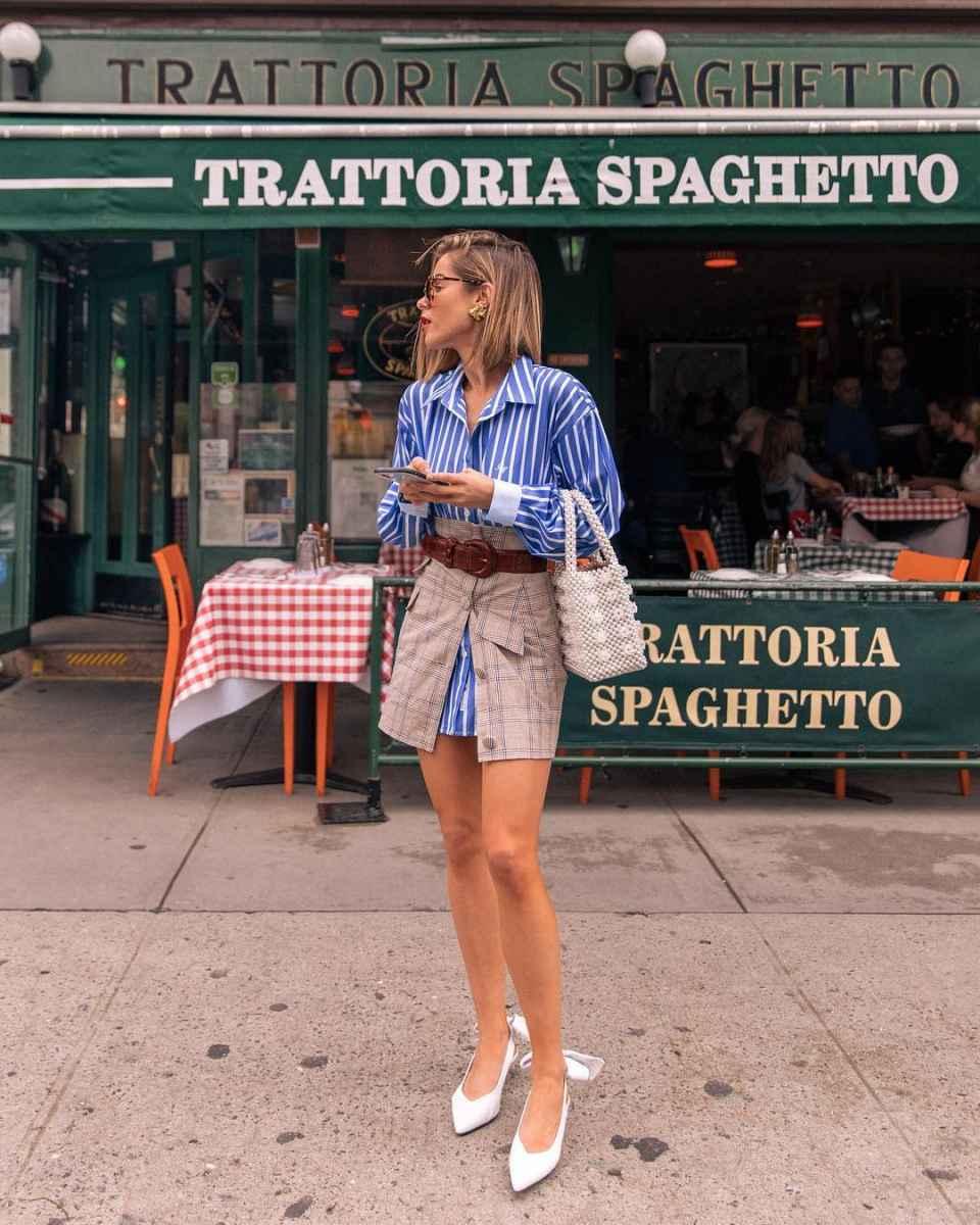 Мода для невысоких женщин лето 2019 фото_26