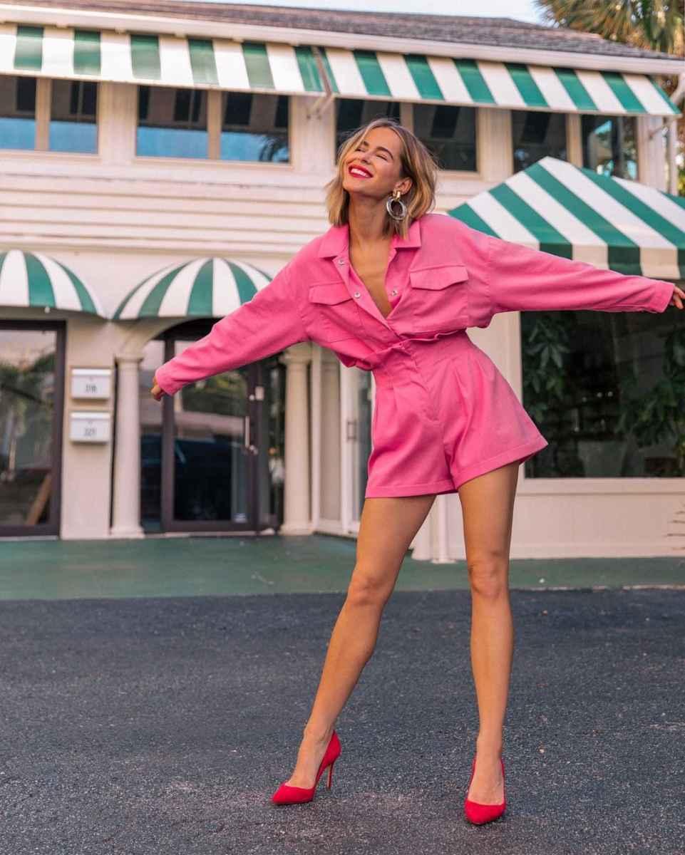 Мода для невысоких женщин лето 2019 фото_22