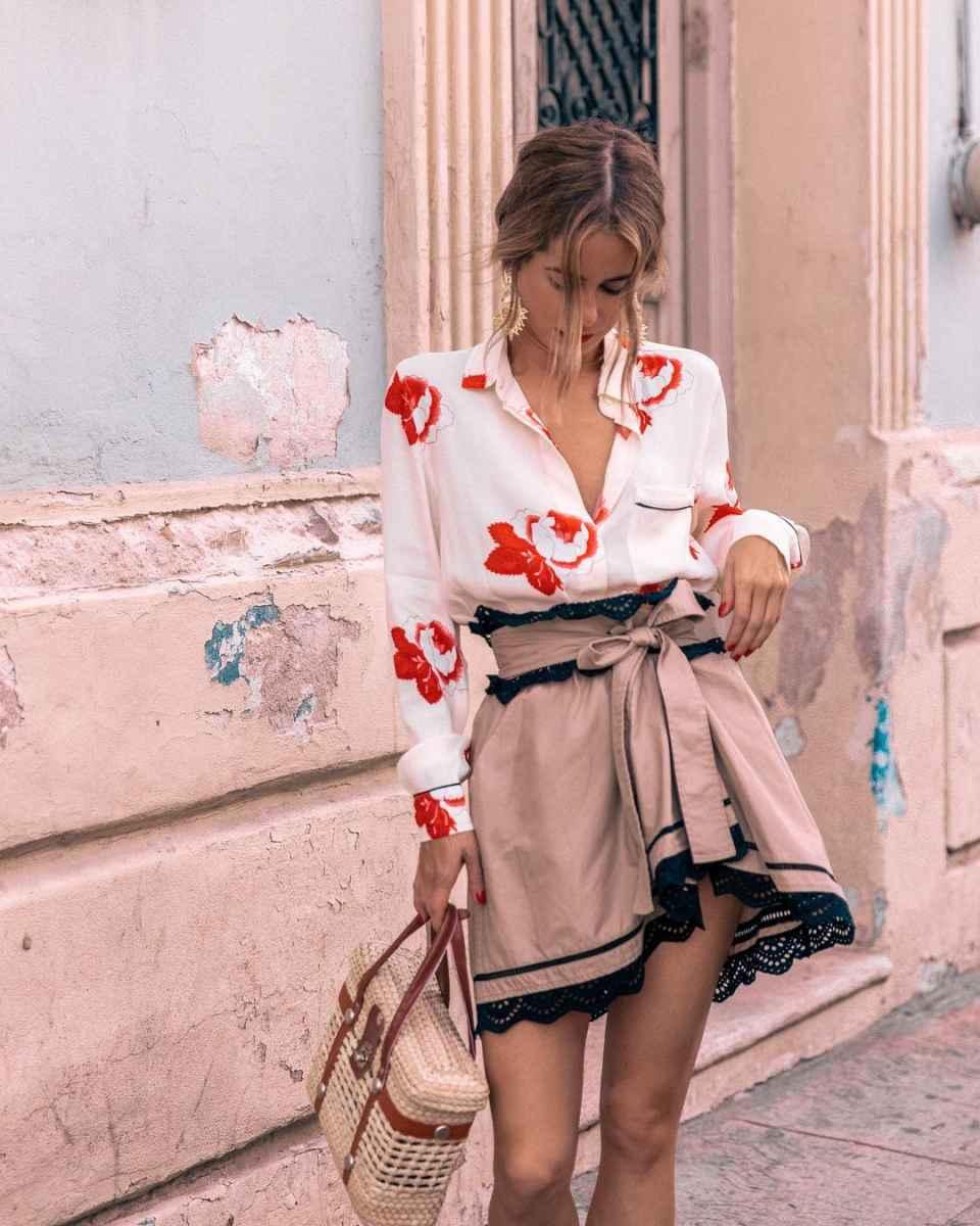 Мода для невысоких женщин лето 2019 фото_11