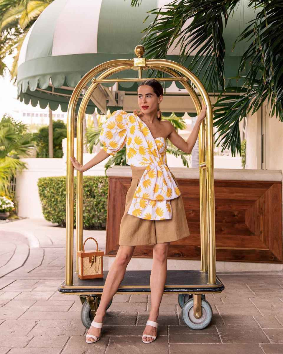 Мода для невысоких женщин лето 2019 фото_6