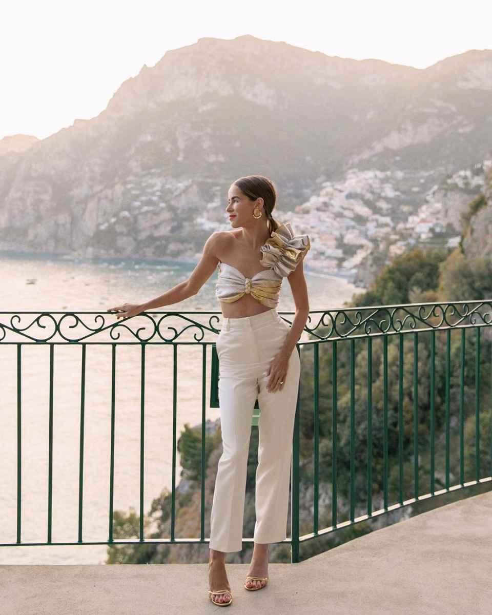 Мода для невысоких женщин лето 2019 фото_4