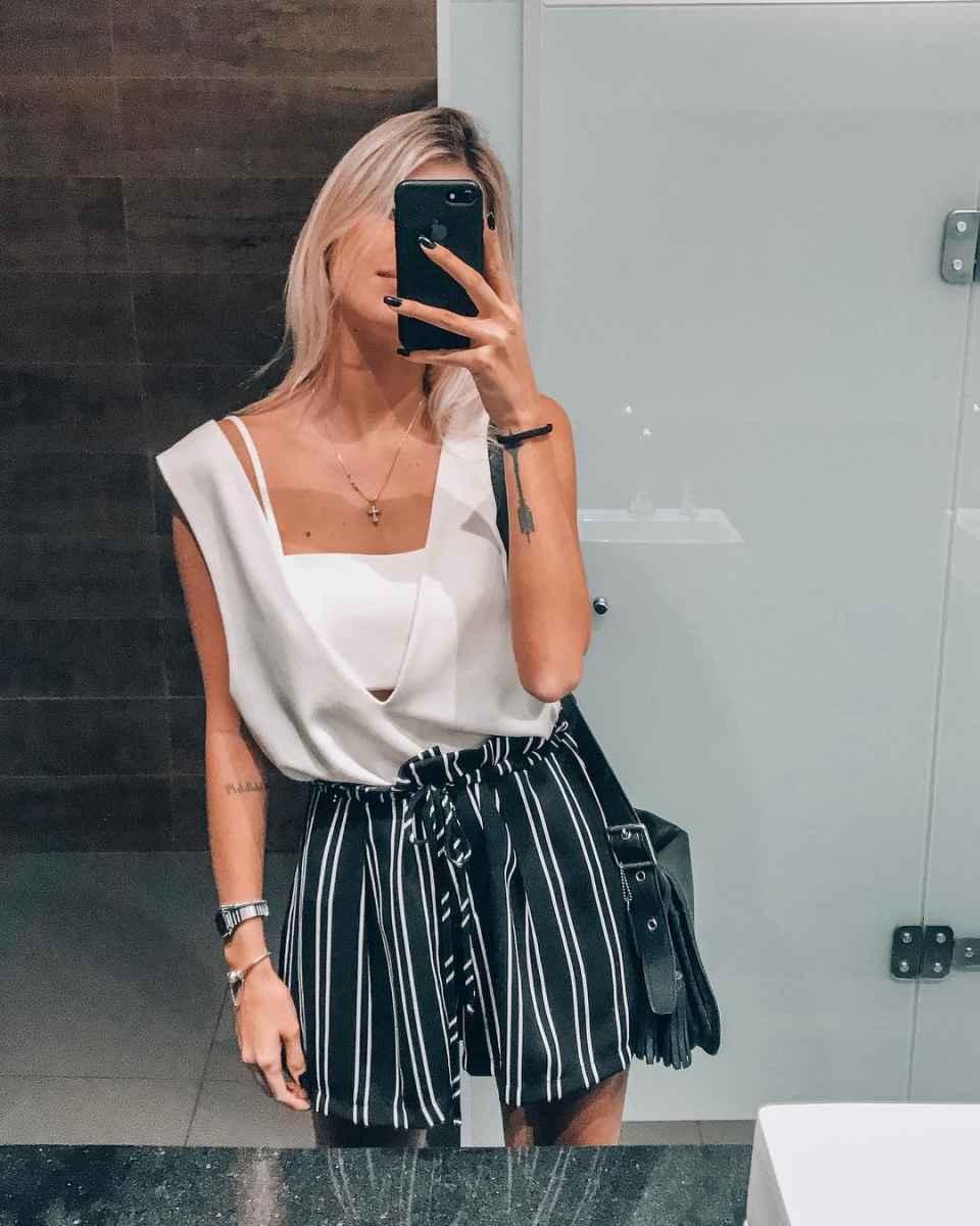 Модные шорты лето 2019 фото_4