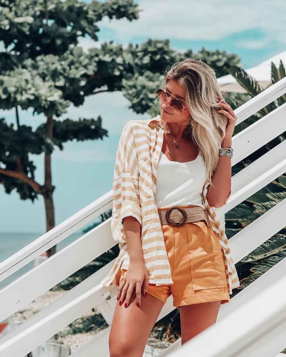 Модные шорты лето 2019 фото_3