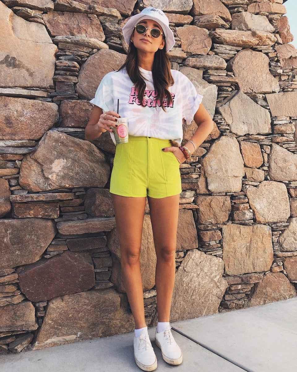 Модные шорты лето 2019 фото_43