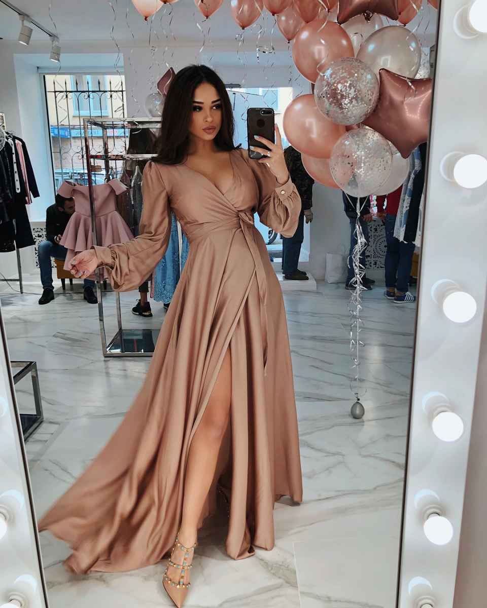 Праздничные платья для беременных фото_34